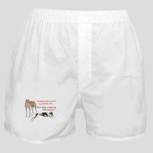 Greyhounds Make Life Whole Boxer Shorts
