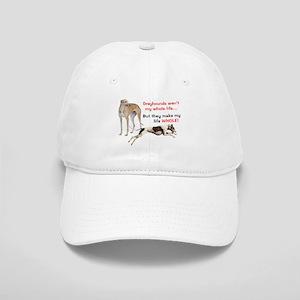 Greyhounds Make Life Whole Cap