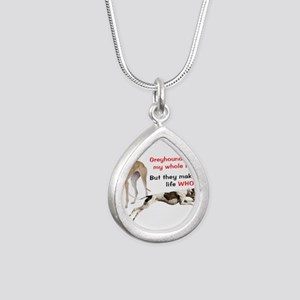 Greyhounds Make Life Whole Necklaces