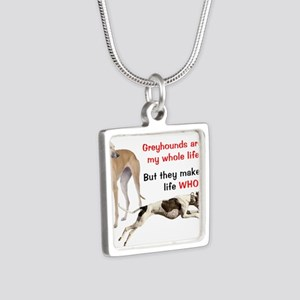 Greyhounds Make Life Whole Necklaces