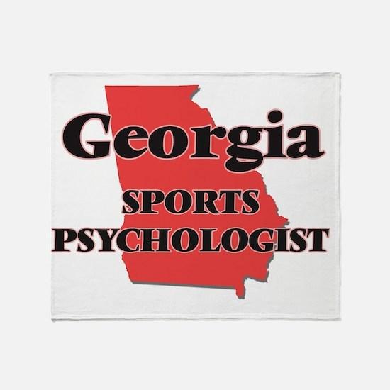Georgia Sports Psychologist Throw Blanket