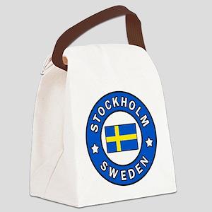 Stockholm Canvas Lunch Bag