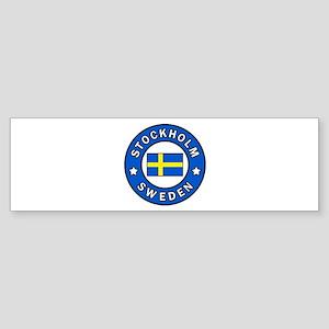 Stockholm Bumper Sticker