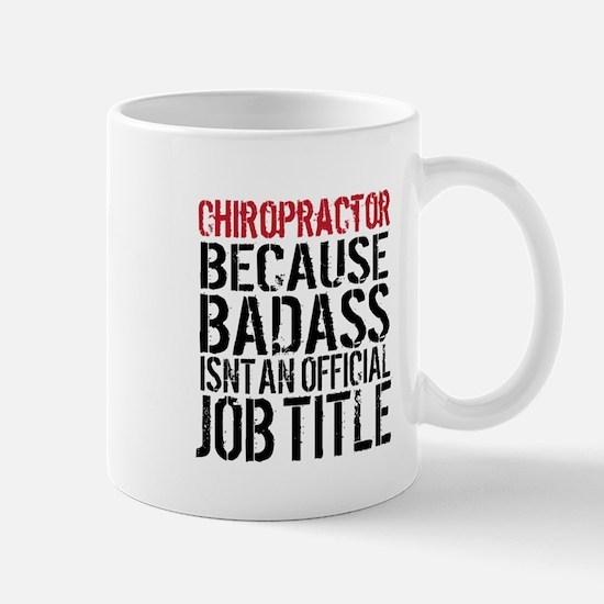 Chiropractor Badass Mugs
