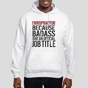 Chiropractor Badass Hooded Sweatshirt