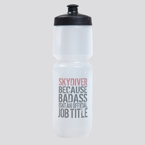 Badass Skydiver Sports Bottle