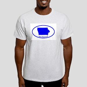 Iowa BLUE STATE Light T-Shirt