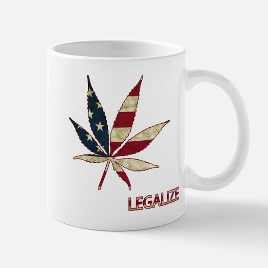 Marijuana Leaf Mugs