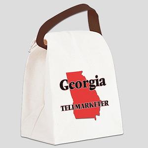 Georgia Telemarketer Canvas Lunch Bag