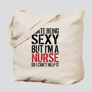 Sexy Nurse Tote Bag