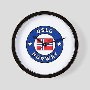 Oslo Norway Wall Clock