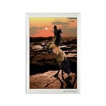 Wild Mustang ~ Horse ~ Rectangle Magnet (100 pack)