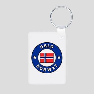 Oslo Norway Keychains