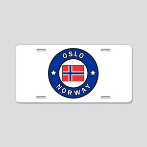 Oslo Norway Aluminum License Plate
