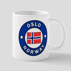 Oslo Norway Mugs