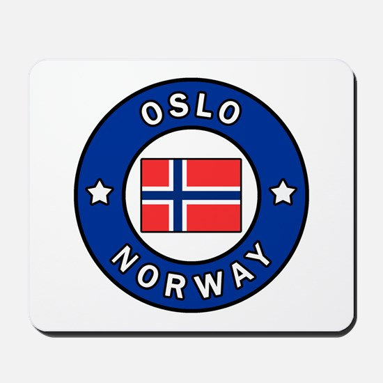 Oslo Norway Mousepad