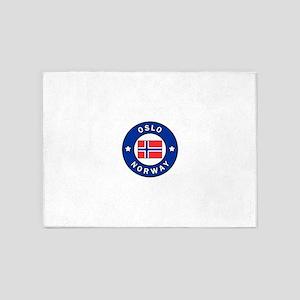 Oslo Norway 5'x7'Area Rug