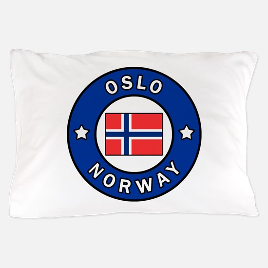 Oslo Norway Pillow Case