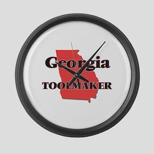 Georgia Toolmaker Large Wall Clock