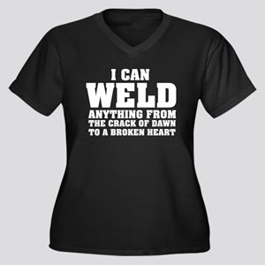 I Can Weld Anything Plus Size T-Shirt