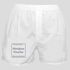 Min Pin Security Boxer Shorts