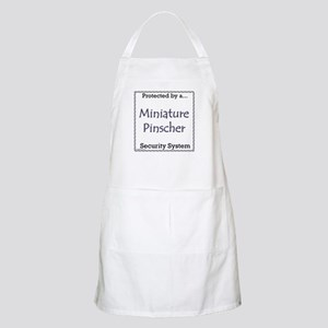 Min Pin Security BBQ Apron