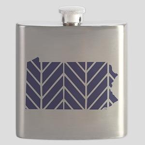 Penn State Chevron Flask