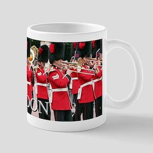 Guards Band, London (caption) Mugs