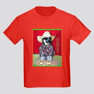 """Howdy"" AuCadogs - Kids Dark T-Shirt"