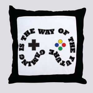 Future Gaming Throw Pillow