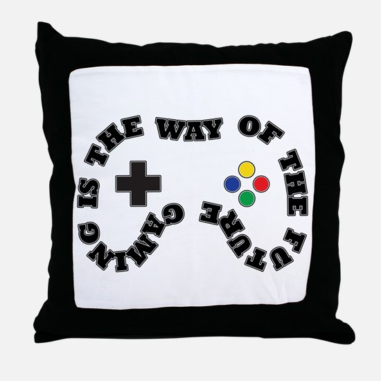 Future Gaming Throw Pillow