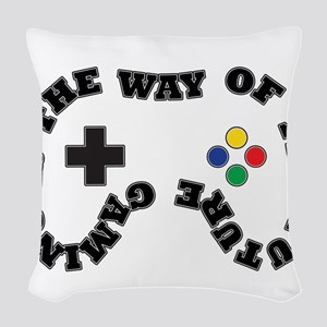 Future Gaming Woven Throw Pillow