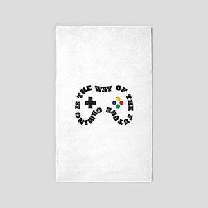 Future Gaming Area Rug