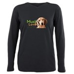 Must Love Doxies Plus Size Long Sleeve Tee