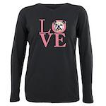 love Plus Size Long Sleeve Tee