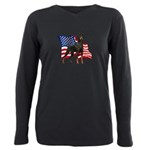flag.png Plus Size Long Sleeve Tee