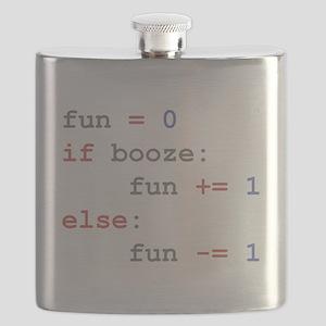 if booze then fun Flask