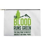 Our Blood Runs Green Makeup Bag
