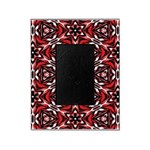Black, white and red kaleidoscope 9070 Picture Fra