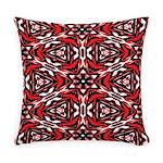 Black, white and red kaleidoscope 9070 Everyday Pi