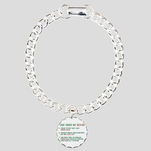 Code of Elves Charm Bracelet, One Charm