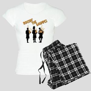 ROCKIN THE BAGPIPES Women's Light Pajamas