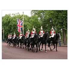 Royal Household Cavalry, London Poster