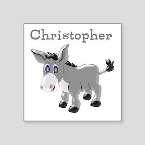 Personalized Donkey Sticker