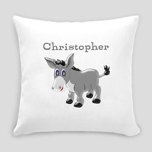 Personalized Donkey Everyday Pillow