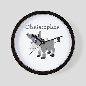 Personalized Donkey Wall Clock
