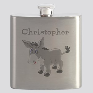 Personalized Donkey Flask