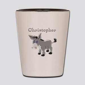 Personalized Donkey Shot Glass