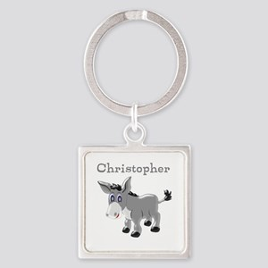 Personalized Donkey Keychains