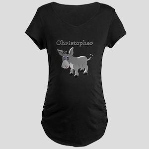 Personalized Donkey Maternity T-Shirt